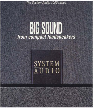 System Audio 1000 Series