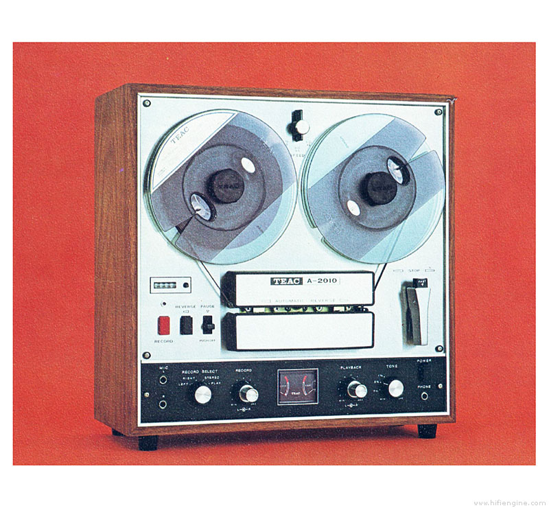 Teac A-2010 - Manual - Stereo Tape Deck