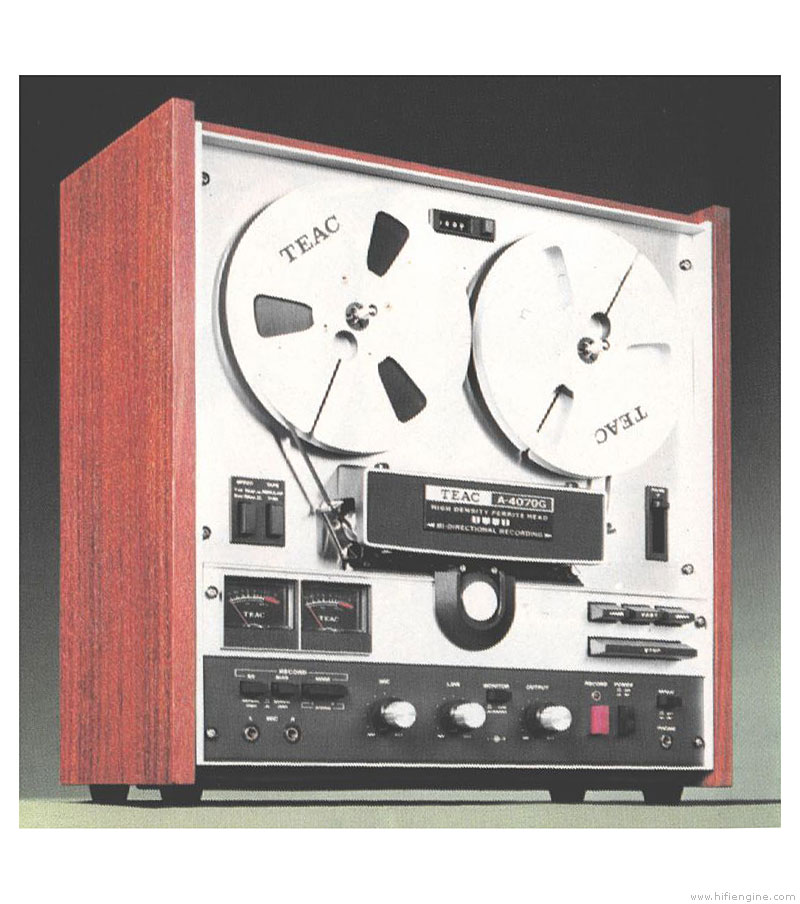Teac A-4070g - Manual - Stereo Tape Recorder