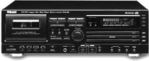 TEAC AD-600 - Manual - Combined CD Changer/Cassette Deck