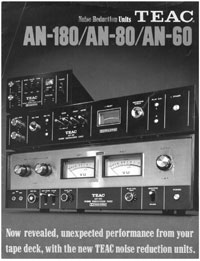 TEAC Noise Reduction Units