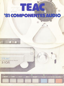 TEAC Audio Components 1981