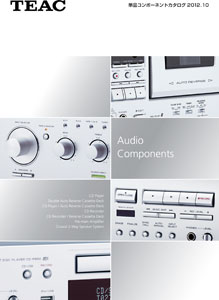 TEAC Audio Components 2012