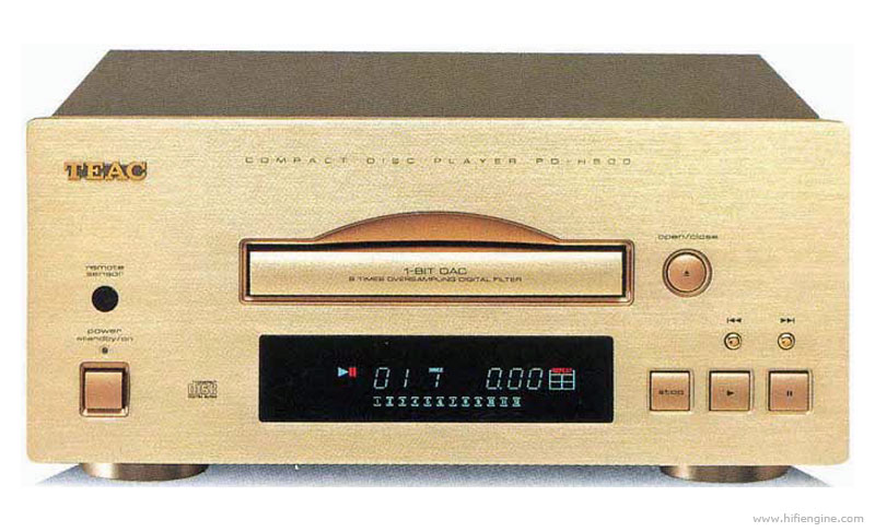 teac cd p1260 cd player manual