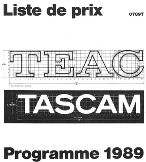 Tascam Price List