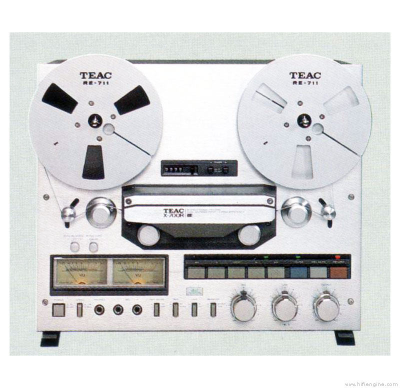 Teac X-700r - Manual - 1  4 Track Stereo Tape Deck