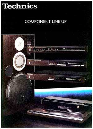 Technics Component Line Up - Product Catalogue - HiFi Engine
