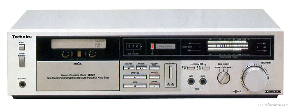 Technics Rs M226 Manual Soft Touch Cassette Deck With