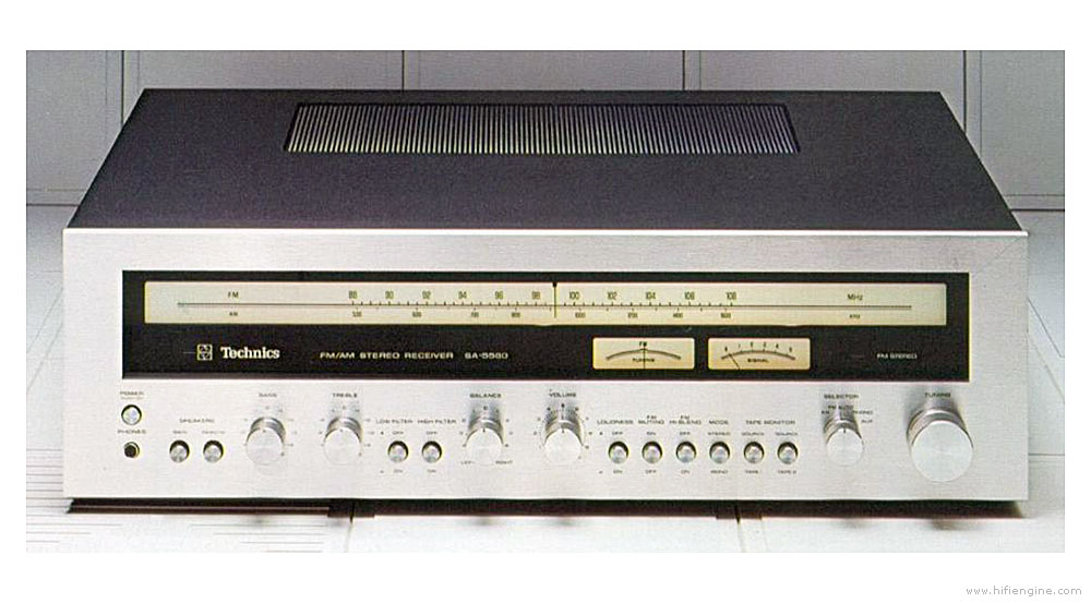 Technics Sa-5560 - Manual - Am  Fm Stereo Receiver