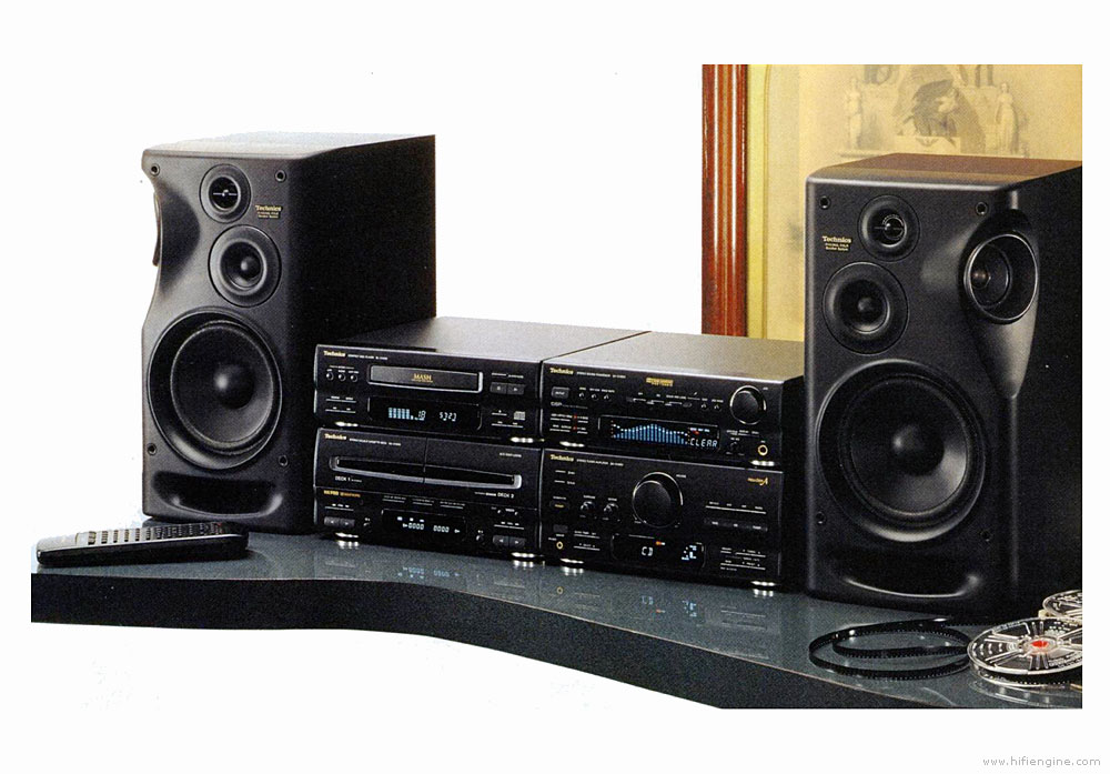 Technics SC-CH950 - Manual - CD Stereo System - HiFi Engine
