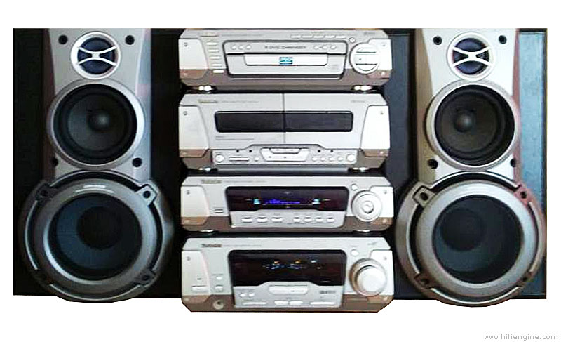 Technics SC-DV150 - Manual - DVD Stereo System - HiFi Engine