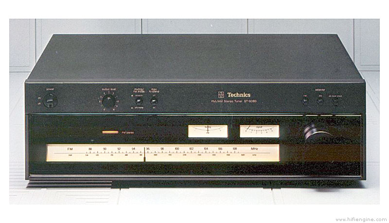 technics st-8080 - manual - am  fm stereo tuner