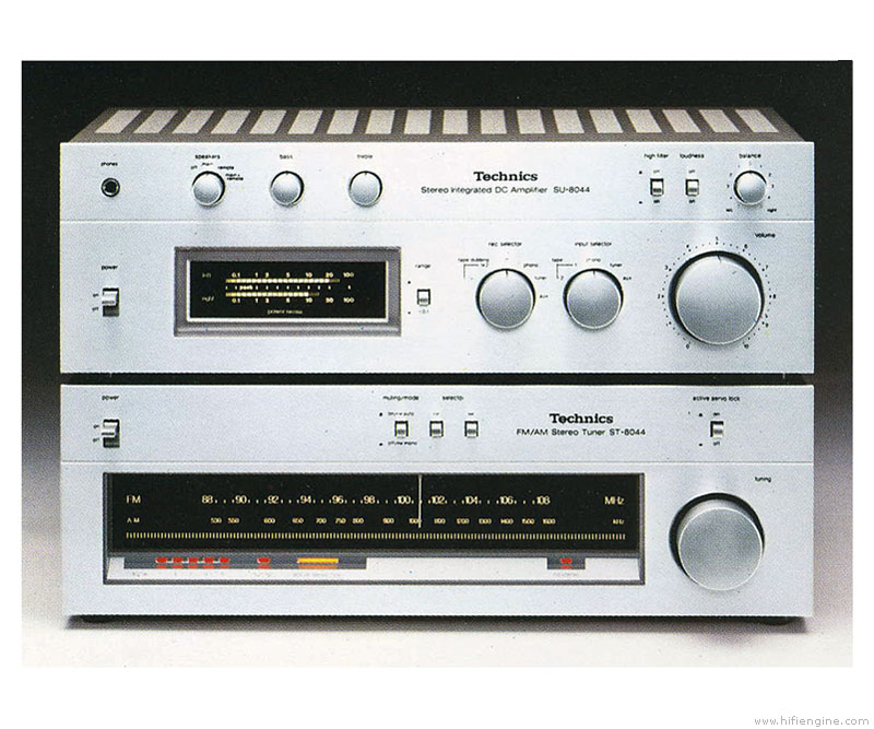 Technics SU-8044 - Manual - Stereo Integrated Amplifier - HiFi Engine
