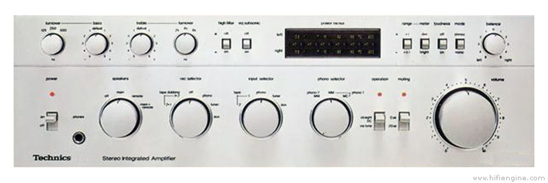 Technics SU-8099 - Manual - Stereo Integrated Amplifier - HiFi Engine