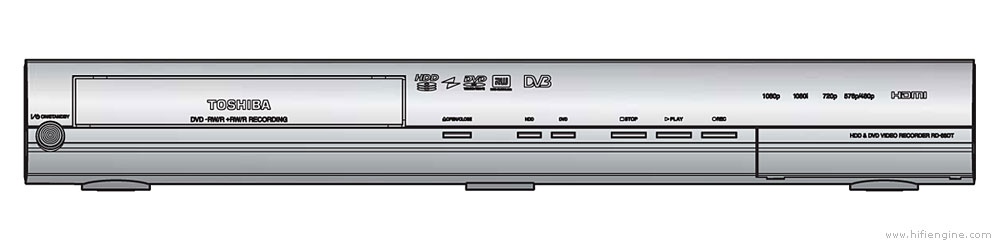 Toshiba Rd-98dt - Manual - Hdd  Dvd Recorder