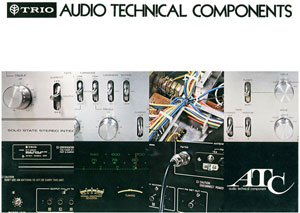 Kenwood Audio Technical Components