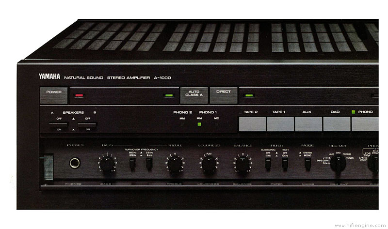 Yamaha A-1000 - Manual
