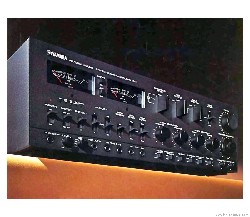Yamaha C-1 - Manual - Stereo Control Amplifier