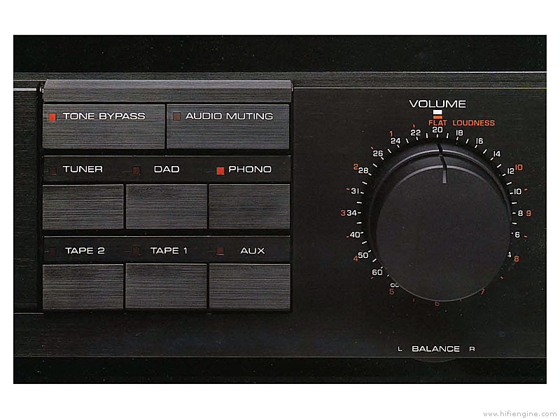 Yamaha C-80 - Manual - Stereo Control Amplifier