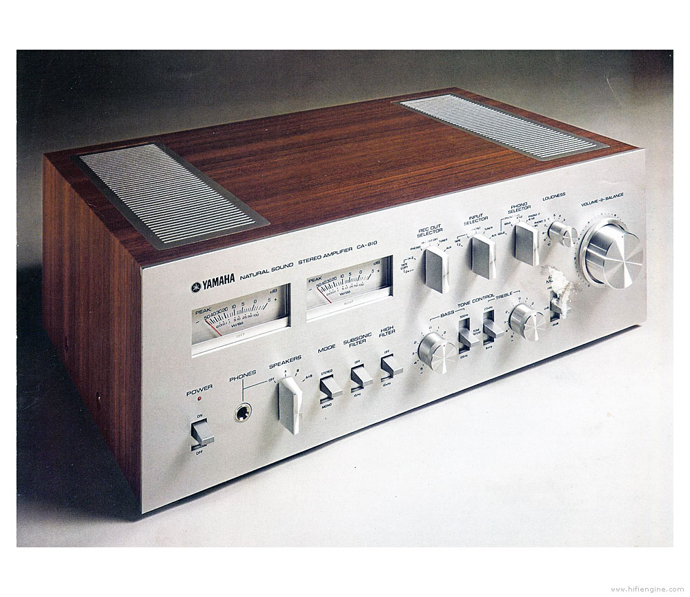 Yamaha CA-810 - Manual - Stereo Integrated Amplifier - HiFi Engine