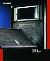 Yamaha Club Series Speakers 2004