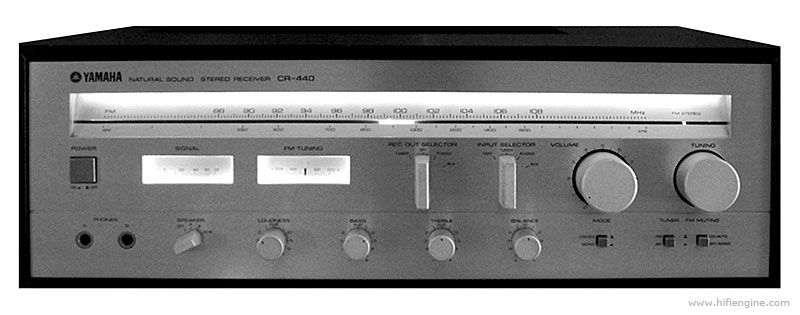 Yamaha Stereo Receiver Model Cr