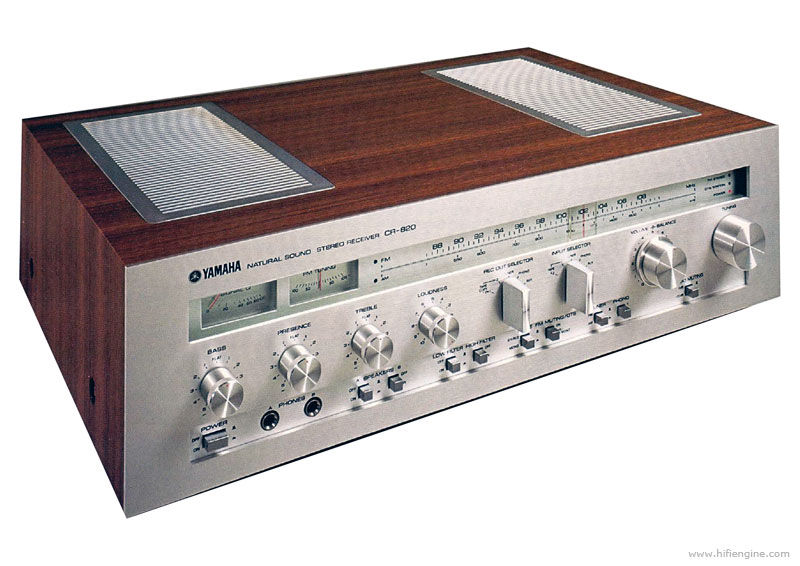 Ampli Receiver Yamaha Cr