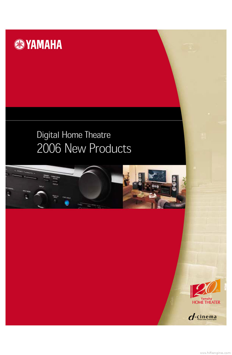 Yamaha digital home theater product catalogue hifi engine for Yamaha htr 5590 review
