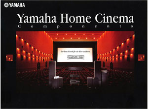 Yamaha Home Cinema Components