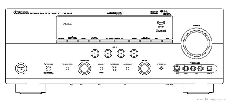 Yamaha rxv-671 solid state amp receiver on demand pdf download.