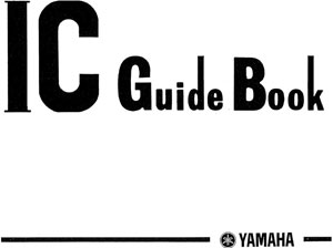 Yamaha IC Guide Book