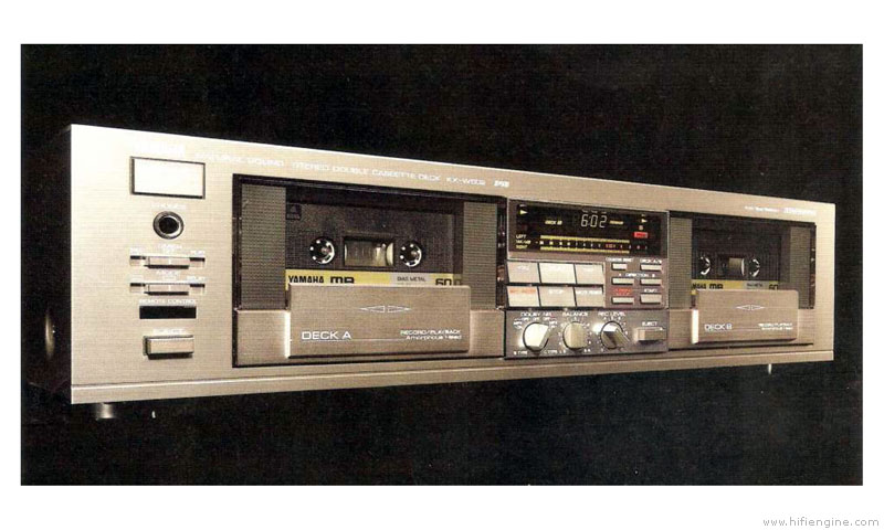 Yamaha Kx-w602 - Manual - Double Cassette Deck