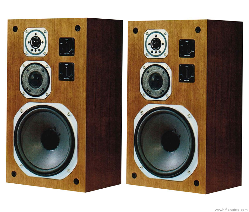 Yamaha Ns 670 Manual 3 Way Bookshelf Loudspeaker