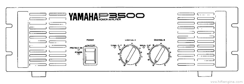 Yamaha p3500 manual stereo power amplifier hifi engine for Yamaha ysp 5600 manual