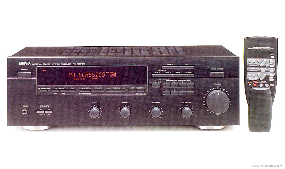 Yamaha Rx Fm Stereo Receiver Manual