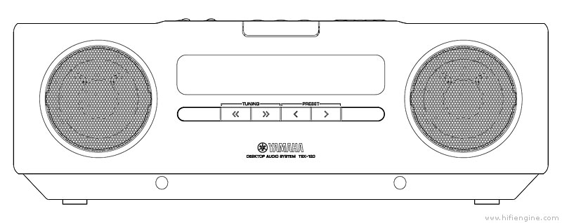 Yamaha Desktop Audio System Tsx Manual