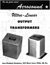 Acrosound Ultra-Linear Transformers