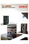 aiwa v-900 series cover