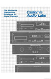 california audio labs products cover
