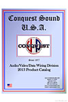 conquest sound products cover