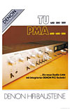 denon amplifiers and tuners 1978 cover