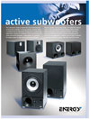 Energy Active Subwoofers