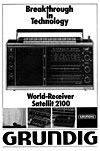 grundig satellit 2100 advert