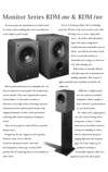 kef rdm monitor series inside