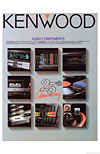 kenwood audio components 1986 cover
