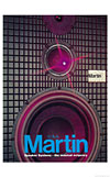martin speaker systems front cover