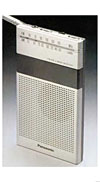 panasonic rf-032 am-fm portable radio