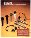 Philips Microphones and Mini Headphones