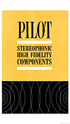 pilot radio corp stereo hifi components cover
