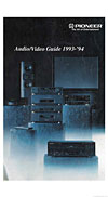 pioneer audio video guide cover